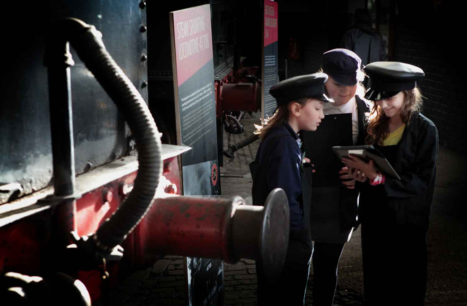 Learning at Barrow Hill Roundhouse and Railway Museum, Chesterfield
