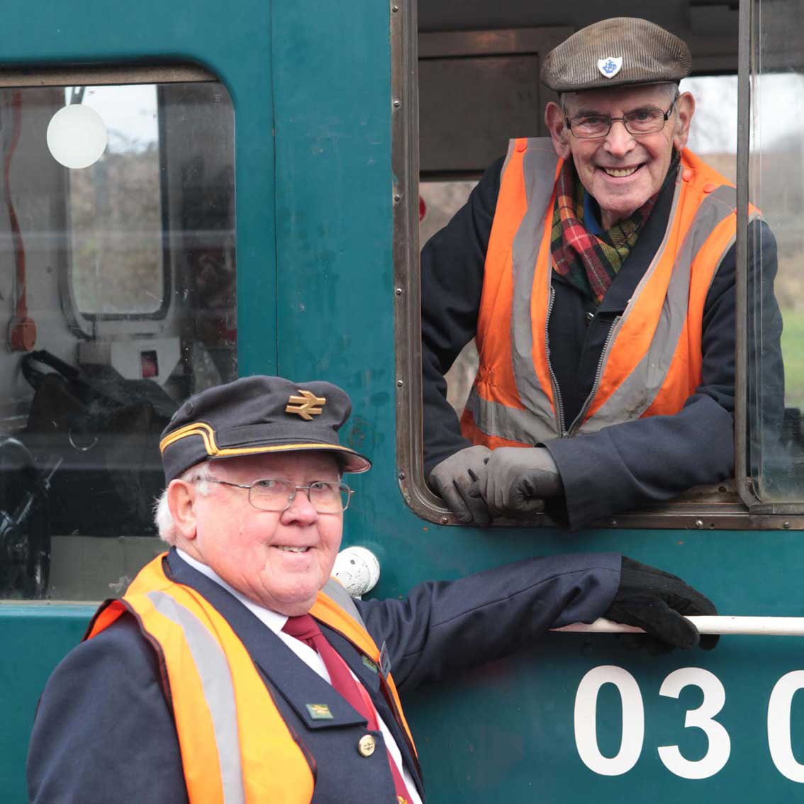 Diesel Footplate Rides for School Visits at Barrow Hill Roundhouse and railway Museum