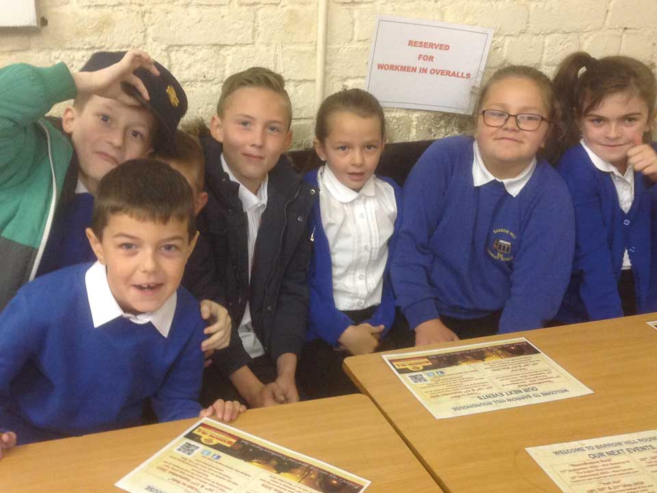 Education and school visits railway history and activities in Derbyshire
