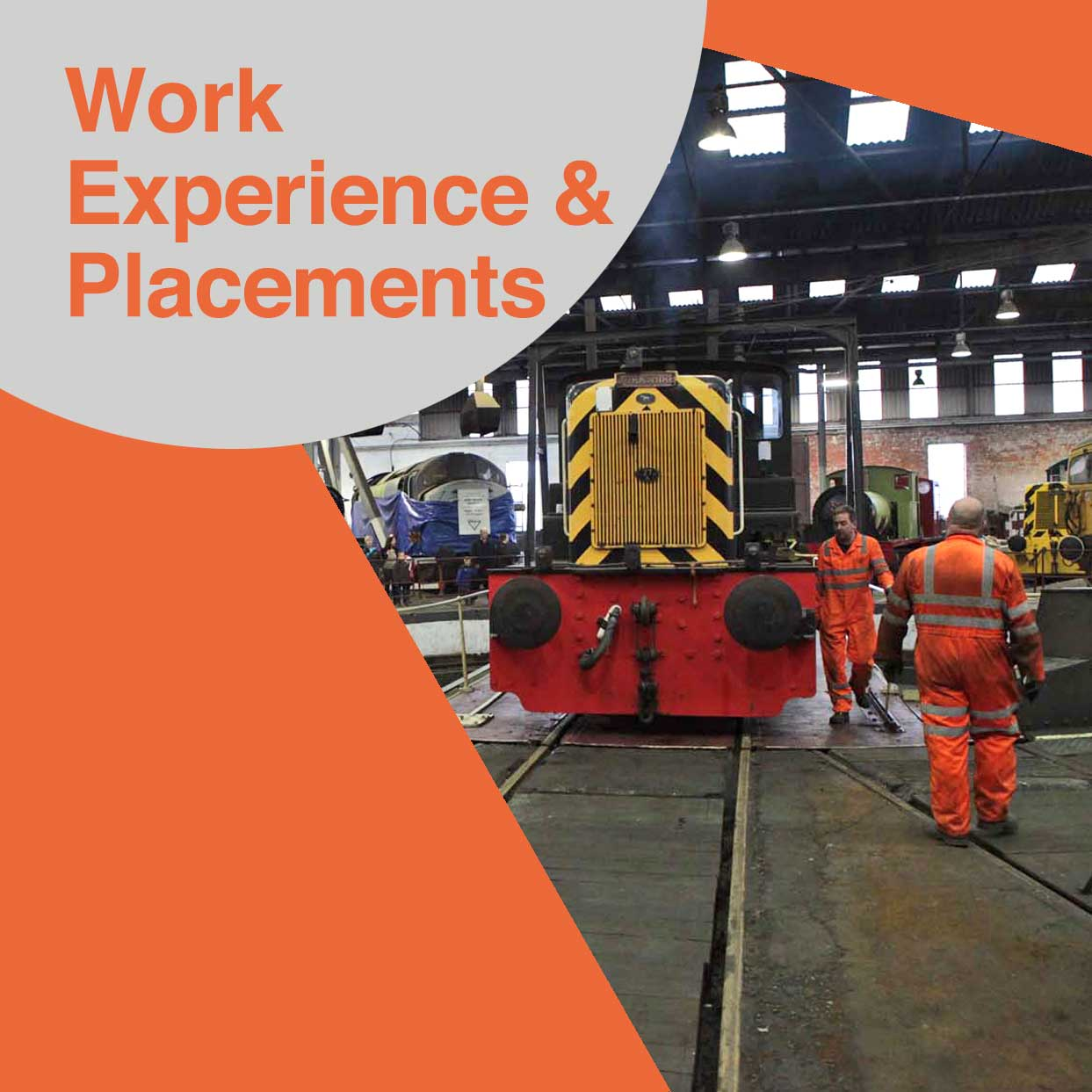 Work Experience and placements available at Barrow Hill Roundhouse and Museum