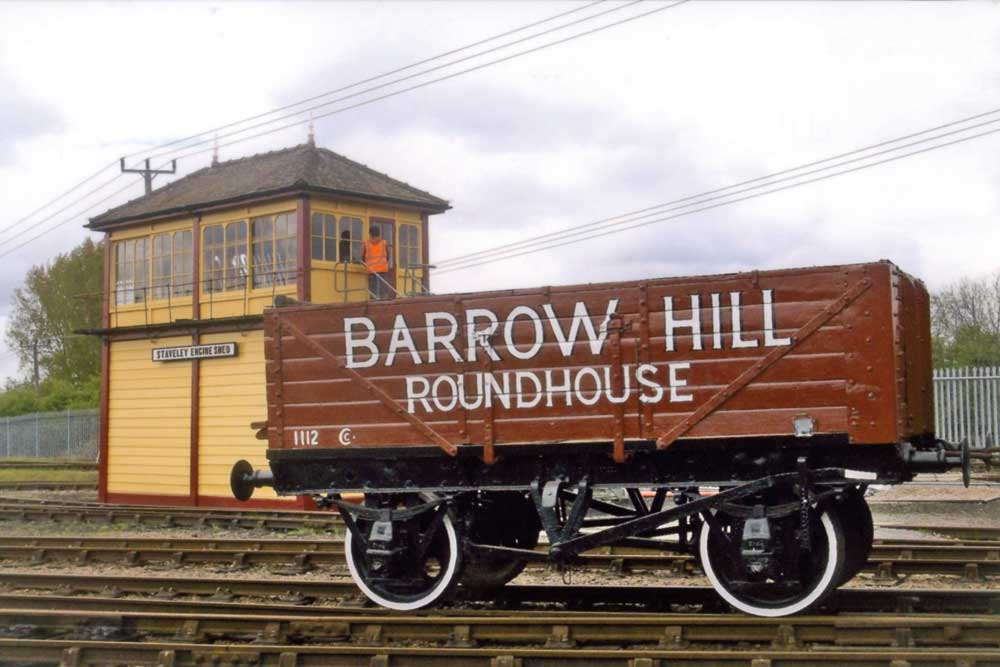 Barrow Hill Roundhouse Railway museum in Derbyshire a fun day out for all the family