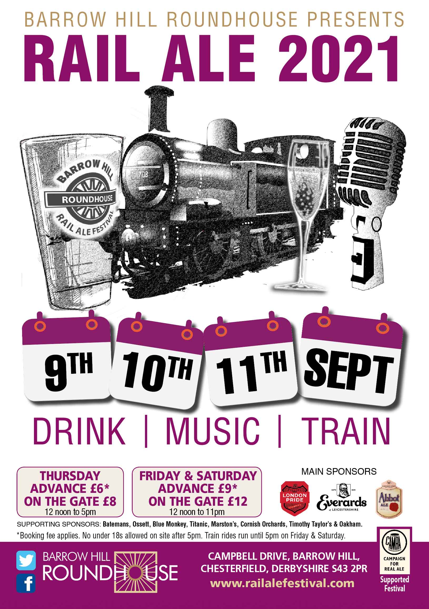 Party Night at Barrow Hill Roundhouse
