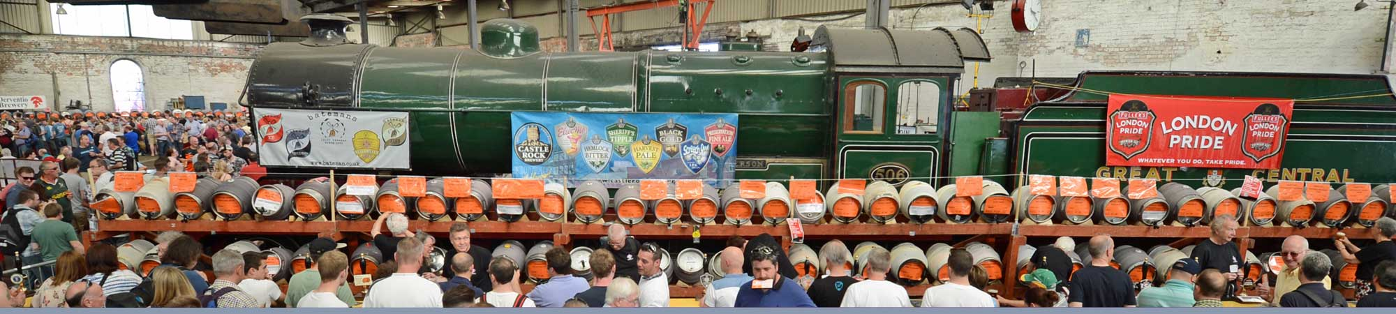 Rail Ale Festival, live music, train rides and more in Derbyshire