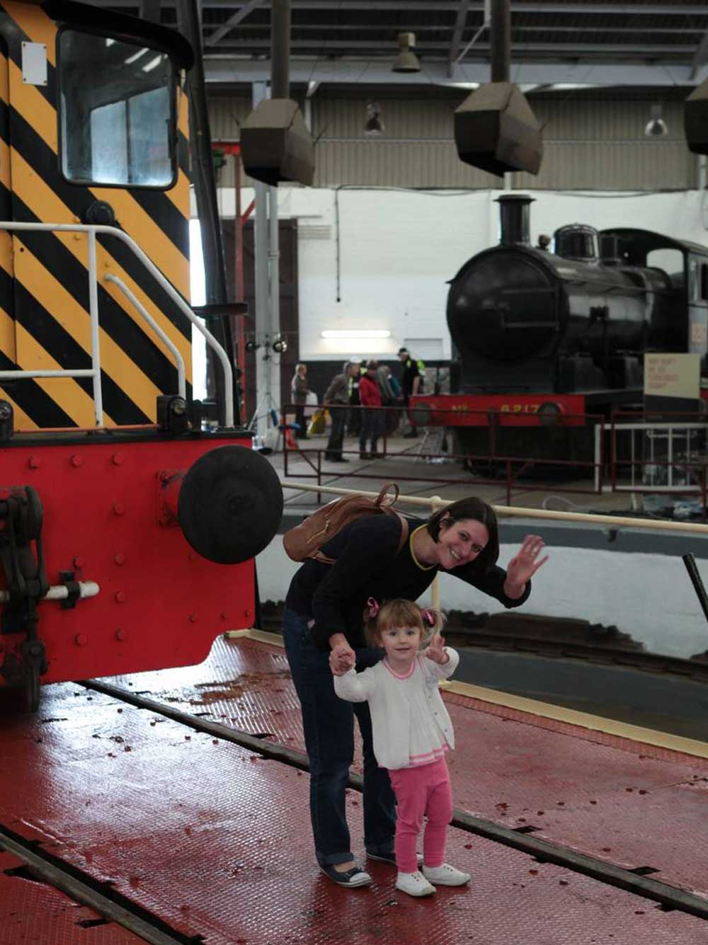 Day out with the kids at Barrow Hill Railway Museum, Chesterfield