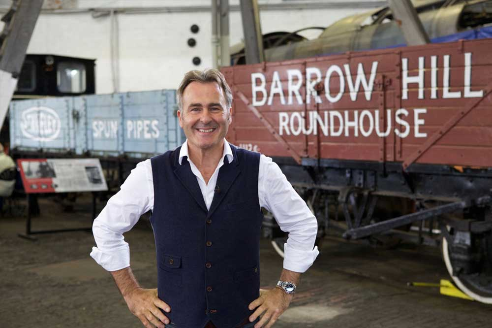Flog it filmed their show at barrow Hill Roundhouse