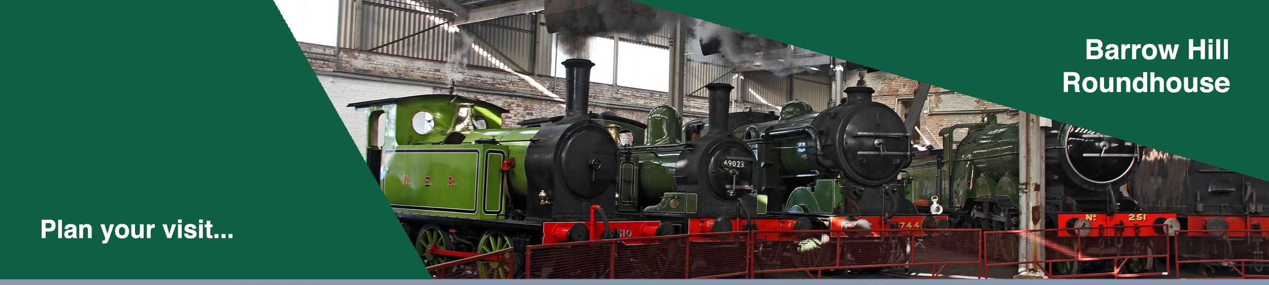 Railway Museum and Historical Roundhouse at Barrow Hill, Derbyshire