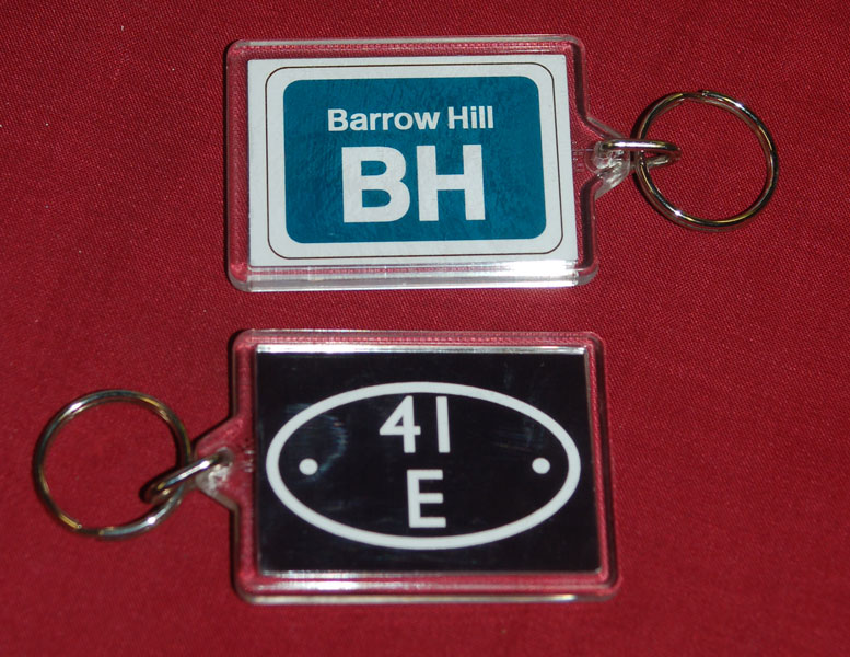 Barrow Hill keyrings, gifts, collectables and memorabilia in the shop