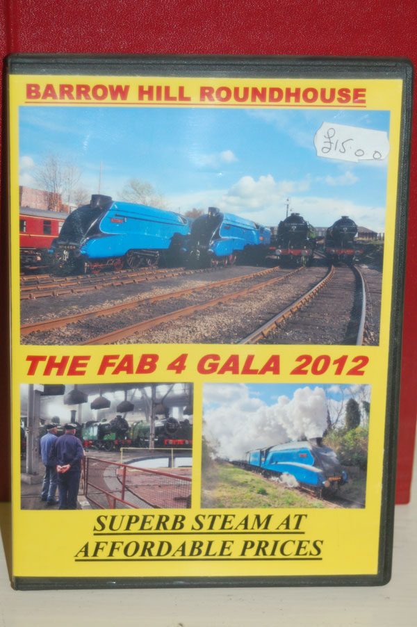 The Fab 4 Gala 2012 DVD gift, present for sale at Barrow Hill