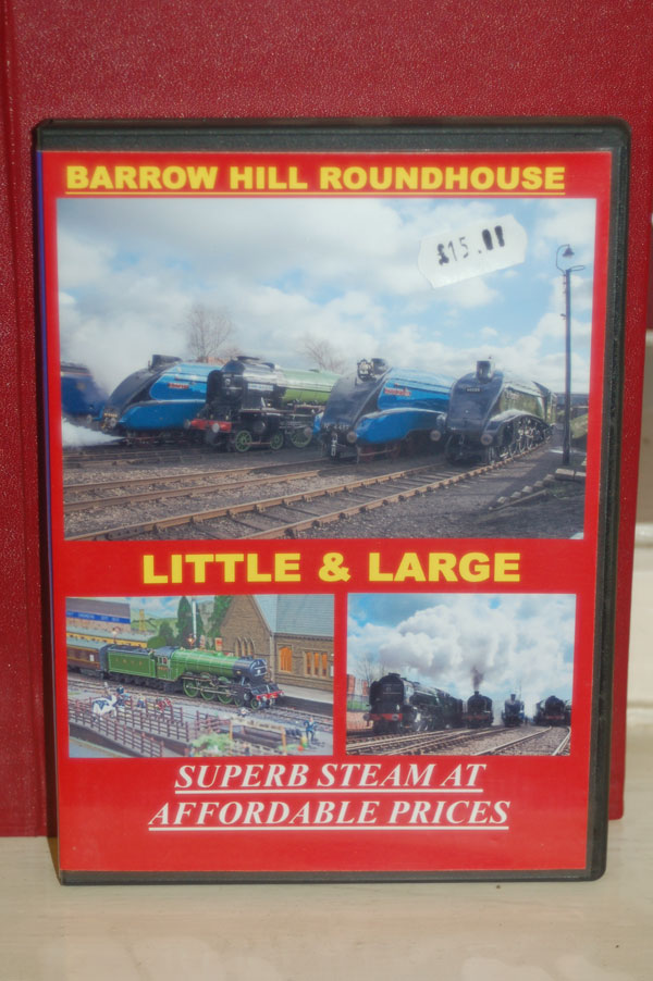 Steam Train DVD railway gift Little and Large - superb steam at affordable prices DVD gift